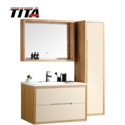 Дубовая древесина современной ванной комнате TM8306