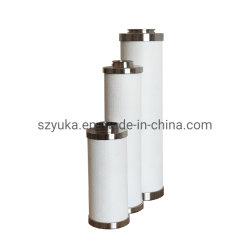 Het Element van de Filter van het roestvrij staal verwijdert Olie/Deeltje/Damp/Geur voor Delen 0.01&mu van de Compressor van de Lucht; M