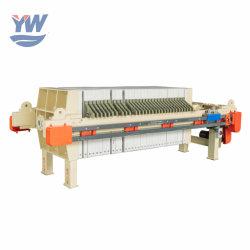 Commandé par programme Chambre Automic filtre à membrane pour les boues de presse l'eau chaude pour la vente