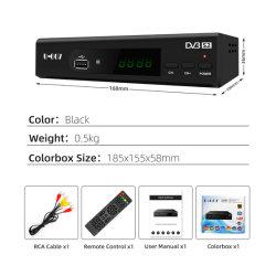 Tlc HD DVB-S2 compatível com o receptor de satélite DVB-S/MPEG-4