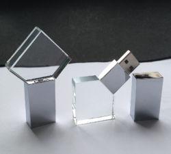 Firmenzeichen-Speicher-Stock-erstklassiges förderndes Geschenk-transparentes Kristall USB-Blitz-Laufwerk