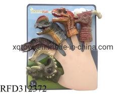 Animaux mignons jouer Jeu de rôle éducatif dinosaure marionnette de doigt