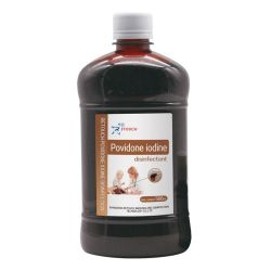 OEM Povidone Iodine Scrub desinfectant 7.5% Povidone Jodine, U.S.P. Equivalent aan 75% beschikbare jodium effectief voor pre-operatieve handscrubbing en chirurgisch