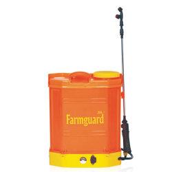 Sac à dos de la pompe d'arbres fruitiers à moteur d'alimentation 20L Sac à dos de la batterie du pulvérisateur