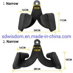 Palestra attrezzatura fitness cinque pezzi completo Lat pulldown Barra maniglia di inclinazione fila bassa