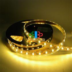 LED de fornecedores na China luz Fita 60HP 5050 três chips de 12V SMD-5M/Luz de LED de rolos