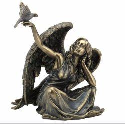 Новый дизайн Искусство Декор Ангел с статуей бухты