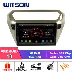 Witson Quad Core coche reproductor de DVD GPS para Citroën Elysee/Peugeot 301