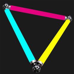 1つのメートルD40 3D LEDピクセル管24VDC 360度の照明Martix LEDの管