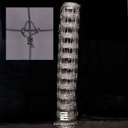 조정 매듭 담 담궈지는 18-208-15 100m 6각형 철사 그물세공 높이 장력 최신 직류 전기를 통하는