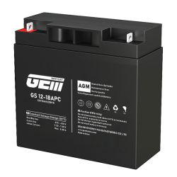 Joya de la serie GM batería AGM precio de fábrica de ácido de batería de almacenamiento de UPS 12V 18Ah La Energía Solar