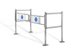 Novo design mecânico simples de entrada do Braço Oscilante Supermercado Gate