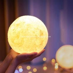 昇進のギフトのための最も安い3D月ランプのロマンチックな大気夜ライト