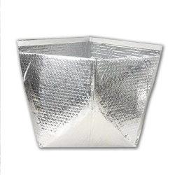 絶縁されたアルミホイルのポリ袋刑事熱使い捨て可能な絶縁された多袋