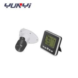 Niveau d'affichage, de la température de l'eau à ultrasons avec alarme de niveau du capteur de niveau