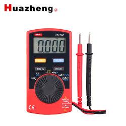 Berufsdigital Wechselstrom-Gleichstrom-Voltmeter-Schelle-im Taschenformatmultimeter Ut120c