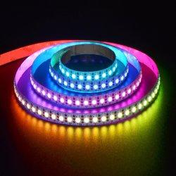 주소 지정 가능한 Ws2812 DC5V 144LED 유연한 프로그래밍 가능 5050RGB 매직 LED 디지털 스트립