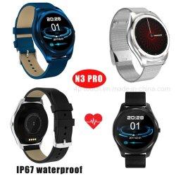プロN3を満たす磁石が付いている防水Bluetoothのスマートな腕時計の電話