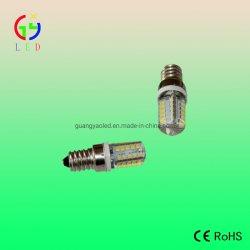 Recubierto de gel de silicona LED E14 Refrigerador lámparas LED E14 40SMD 2835 Congelador Luz, luces LED E14 Nevera envuelto de silicona