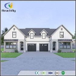 Dúplex Casas Prefebricated Reachfly prefabricados de acero Dúplex Casa de encuadre
