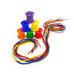 Venda por grosso de brinquedos educativos 120PCS bobinas de algodão de cor da luz ao brinquedo didáctico