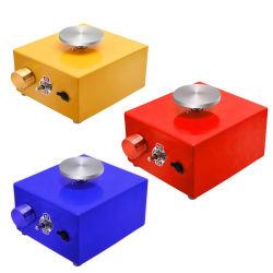12V het mini Elektrische Wiel die van het Aardewerk het Hulpmiddel van de Klei van de Machine DIY met Dienblad voor de Ceramische Ambacht van de Kunst van de Klei van de Keramiek van het Werk vormen
