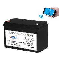 Морской RV-фургонов литий LiFePO4 аккумуляторная батарея 12V 100Ah с Bluetooth-APP
