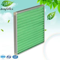 Primär-Panel-flache Luftfilter-Metallineinander greifen-vor Initialen-waschbare synthetische Faser der Leistungsfähigkeits-G4 für Krankenhaus-Elektronik die HVAC-Industial pharmazeutisch und Cleanroom