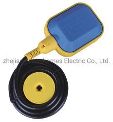 2m de cable tipo redondo del sensor de flujo de agua de la industria de interruptor de flotador de la bomba