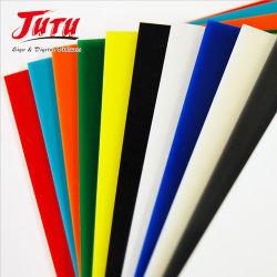 Feuille de transparent en acrylique de PMMA acrylique de feuille d'administration