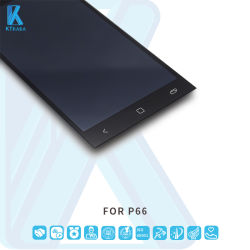 LCD 스크린 휴대 전화 액세서리 터치 스크린 모니터 LCD 파나소닉 P66