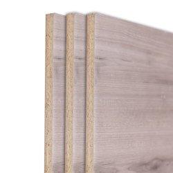 Gostavas de película de melamina confrontados grossista de painéis de aglomerado de madeira laminada para decoração
