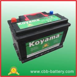 Maior desconto! 12V 75AH Auto bateria utilizada para o arranque do carro DIN75MF