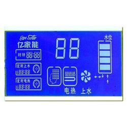 شاشة عرض LCD STN/TV مخصصة/رخيصة ذات لون أحادي بلون أزرق، مصنّعة التصميمات