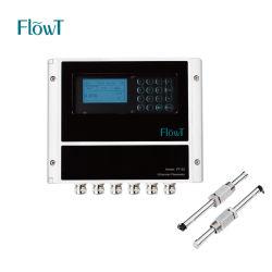 Flussometro portatile ultrasonico intelligente di controllo automatico per liquido