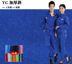 Arbeitskleidungs-Uniform-Gewebe des Textil-Polyester-Baumwoltwill-T/C