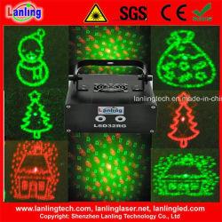 Disco мерцание рождественских вечеринок оформление этапе лазера