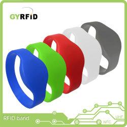 Menschliche RFID Marken des Hochfrequenz-RFID Wristband-für Pub (WRS05)