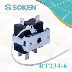 Soken 8 Posición cuerda tirar de la cadena Interruptor Giratorio