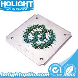 Porta 24 Sc Gabarito de polimento APC/suporte para conector de fibra óptica