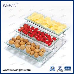 L'alta qualità Cina comercia il cassetto all'ingrosso di vetro della cristalleria 3pieces senza piatti degli elettrodomestici della coltelleria