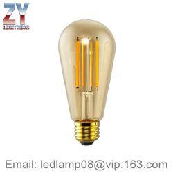 St64 4W/6W/8W B22/E27 Lampe à incandescence de gradation de lumière à LED