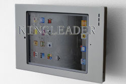 iPad용 벽면 장착형 견고한 금속 보안 케이스