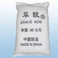 L'acide oxalique