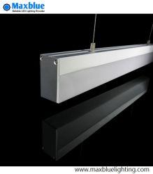 Plafond de la poignée de commande de l'éclairage à LED/pendaison/poignée de commande de profil en aluminium LED lumière linéaire