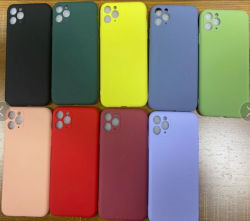 iPhone 12 maximaler Silikon Gummi-Öl Telefon-Prokasten