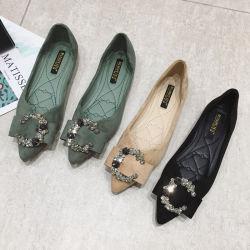 팩토리 홀세일 여성용 슈 캐주얼 플랫 레저 신발 레이디 또는 여성