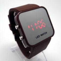Uhr des Silikon-Bügel-LED mit Spiegel-Funktion