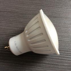مصباح LED مصباح مصباح بلاستيكي 3 واط GU10 أبيض دافئ