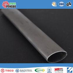 La qualité de Higt Tuyau en acier inoxydable soudés ovale avec l'ISO SGS